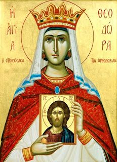 Pictor de Icoane: Sfinta Teodora, imparateasa care a iubit icoanele
