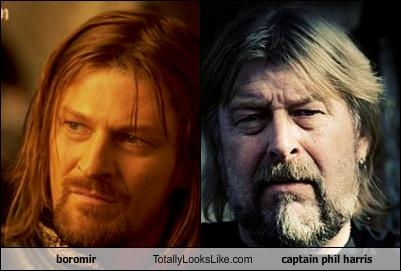 boromir Totally Looks Like captain phil harris