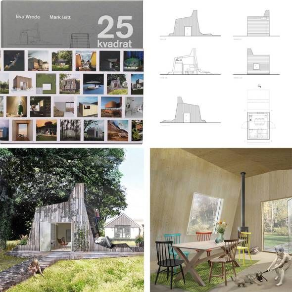 25kvadrat book | Eva Wrede och Mark Isitt | Project by Marge Architects