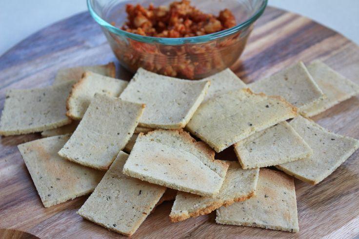 Paleo Challenge Day 24 - Crackers