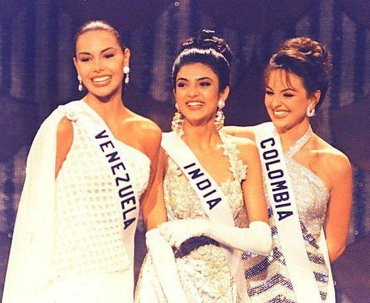 Minorka Mercado, dentro de las 3 Finalistas en el Concurso de Miss Universe 1994 desde Filipina.