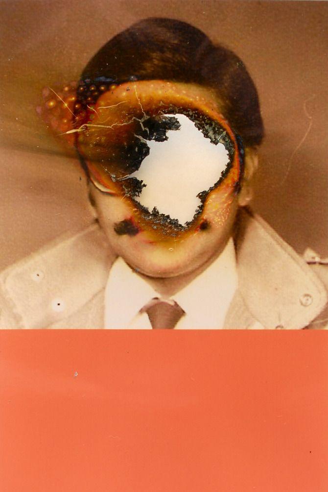 Lucas Simoes Burned Photographs | YOURE NOT HUMAN | (Dis ...