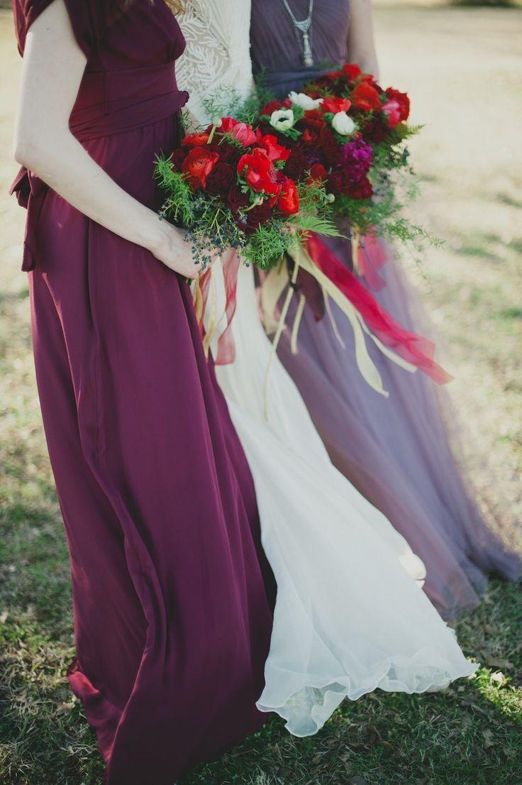 Beautiful Bridesmaids Dresses For Autumn| Photography Sarah McKenzie Photography: