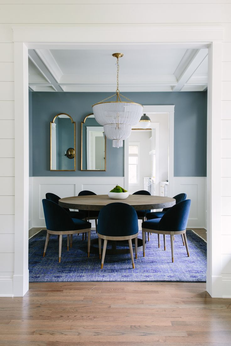 Kate Marker Interiors Dove Residence Kitchen Ware Pinterest Dining Room Blue Dining