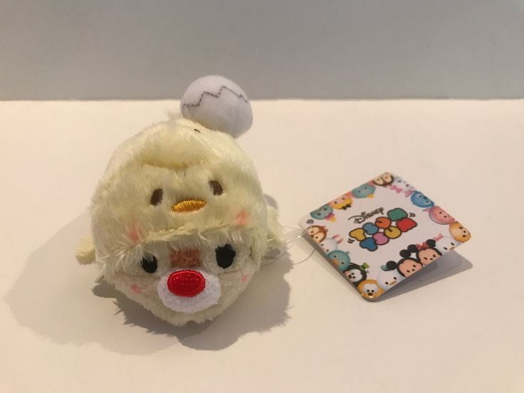 Disney Store Japan Rooster Year Dale Mini Tsum Plush New with Tags