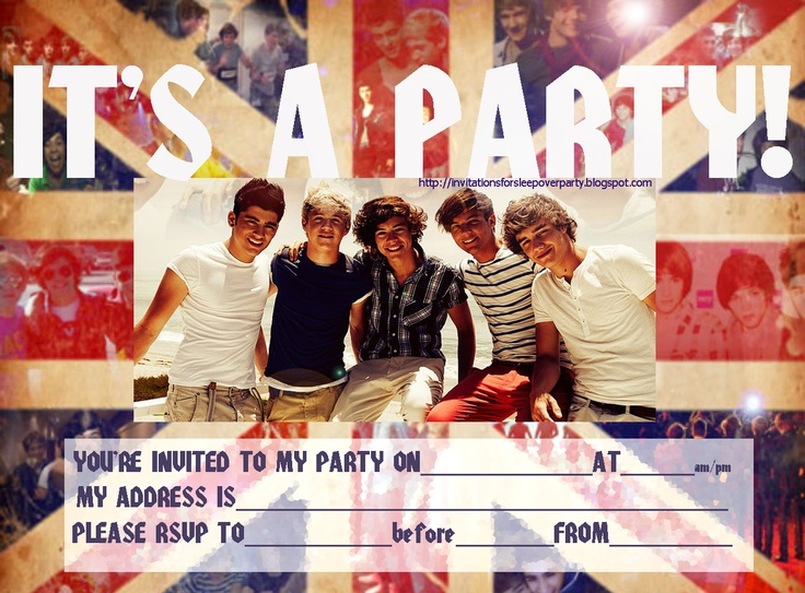 The 25+ best One direction party ideas on Pinterest
