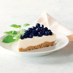 Blåbær-cheesecake