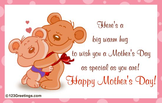 mother's day greetings | Here is a cute postcard for you ...