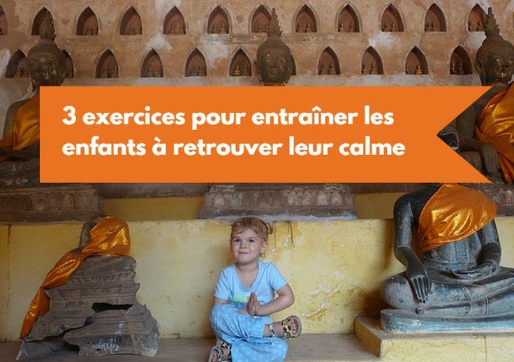 3 exercices pour entraîner les enfants à retrouver leur calme basés sur des activités de pleine conscience                                                                                                                                                     Plus