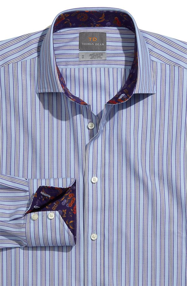 17 best images about men 39 s fashion on pinterest midnight for Mens dress shirts with contrasting collars and cuffs