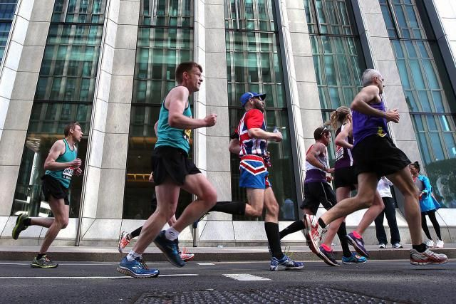 A 22-Week Beginner's Marathon Training Schedule--4 runs a week; more long runs and recovery weeks