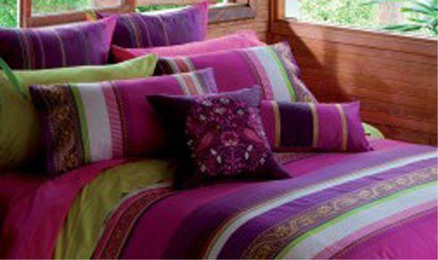 jewel tone bedding  Dream Room!  Pinterest