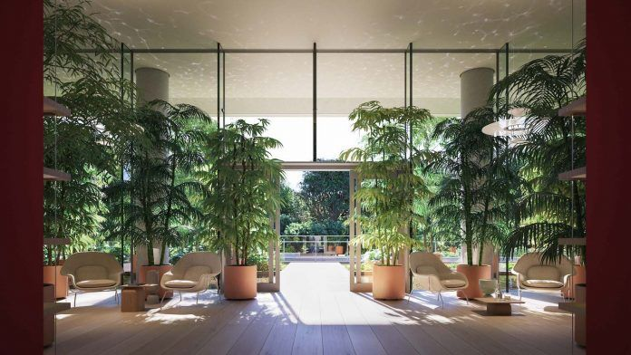 Inside Novak Djokovic's Miami penthouse in Eighty Seven Park by Renzo Piano - CAANdesign | Architecture and home design blog