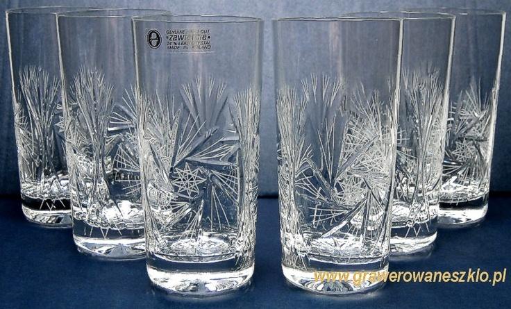 szklanki kryształ