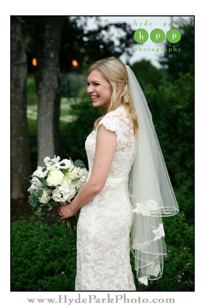 In love with the delicate lace details in Christine's veil that match her stunning lace wedding gown! See more of this @camplucy wedding at http://www.hydeparkphoto.com/camp-lucy-wedding-2/ || Austin weddings, Austin wedding photographers, Texas wedding photographers, wedding ideas, Austin wedding venues, Austin wedding venues outdoors, Camp Lucy, Camp Lucy Austin, Ian's Chapel, destination wedding photographers, Hyde Park Photography, Texas weddings, Austin wedding photography, wedding…