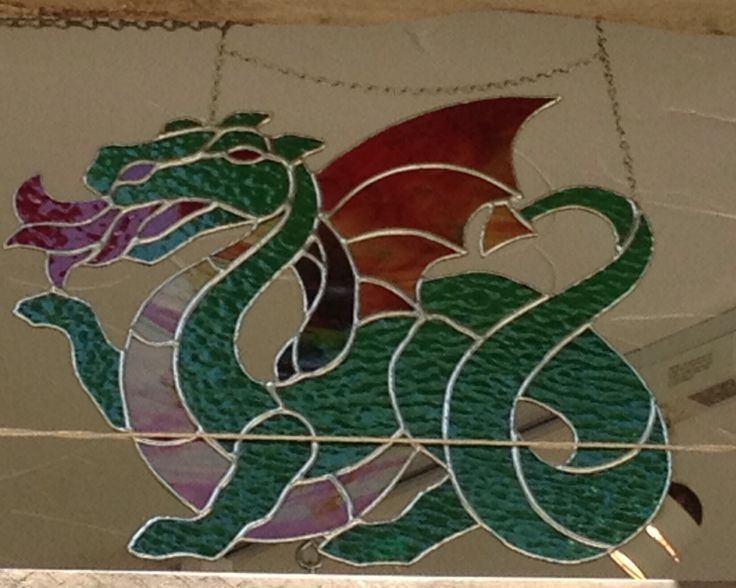 Dragon suncatcher