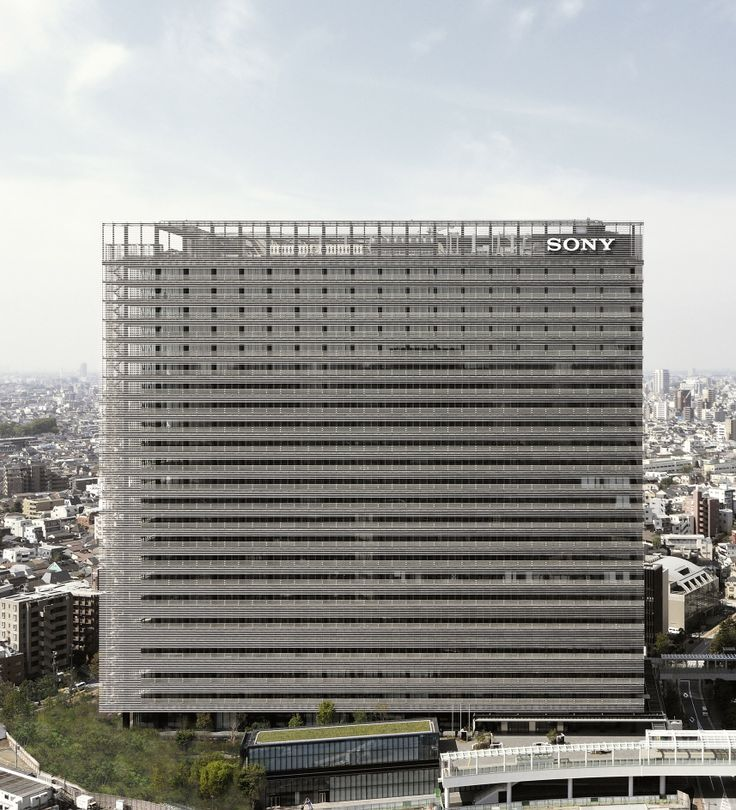 Sony Corporation Sony City Osaki | OpenBuildings