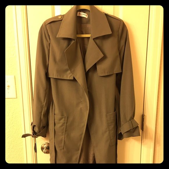 Selling this Lightweight Trench Coat in my Poshmark closet! My username is: willa07. #shopmycloset #poshmark #fashion #shopping #style #forsale #Jackets