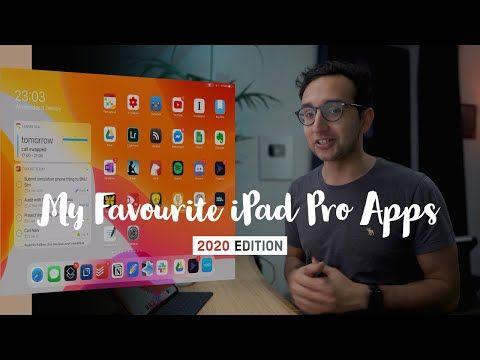 My Favourite Ipad Pro Apps 2020 Youtube Ipad Pro Apps Ipad Pro Ipad