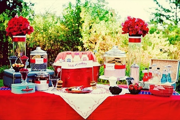 Vintage Backyard Party Ideas : Vintage Picnic Party outdoorpartyideas  Picnic in the Park