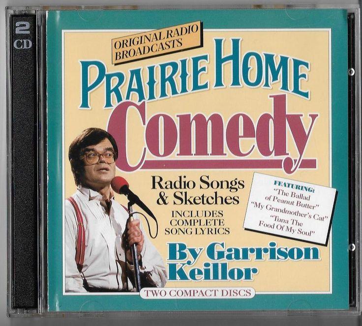 Garrison Keillor Prairie Home Comedy Radio Songs Sketches  2-CDs Set RARE 1998