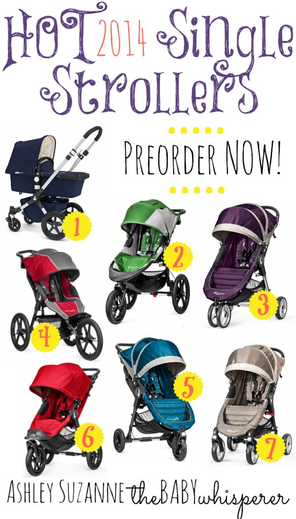 Hot 2014 Single and Double Strollers PishPosh Baby