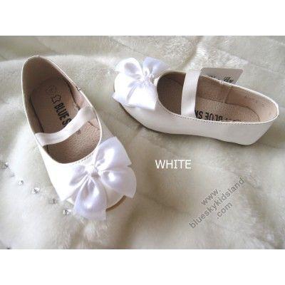 Flat Ballet - White 9954
