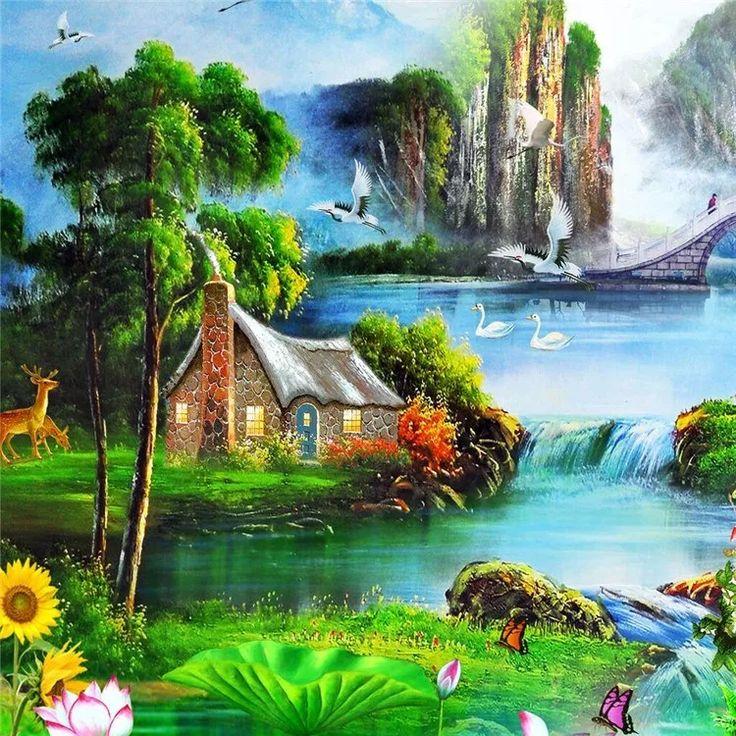 49 Gambar Pemandangan Alam Yang Menajubkan | Pinturas ...