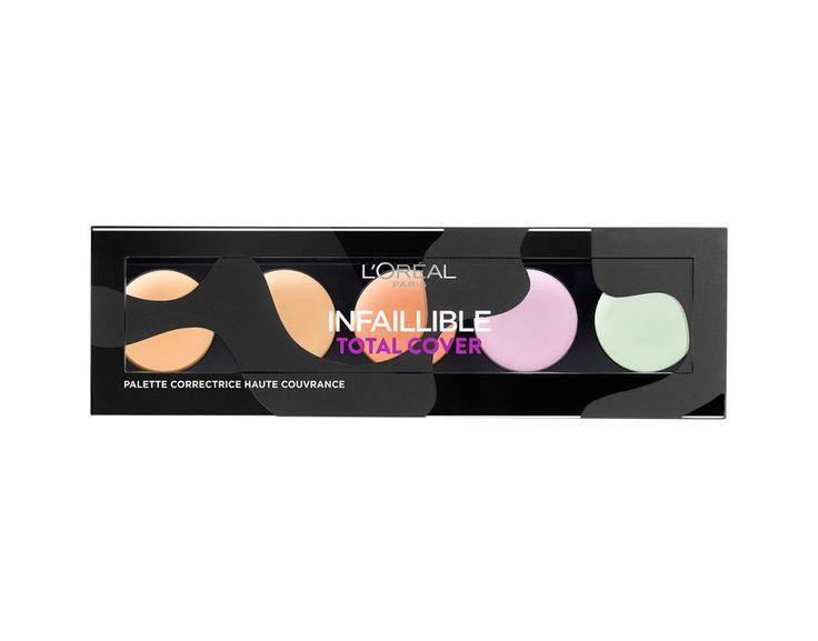 Infaillible Total Cover La Palette Correctrice, Correcteur / Anti-Cernes L'Oréal Paris. Achetez vos produits Maquillage sur le site L'Oréal Paris. Vidéos, tutoriels et diagnostics personnalisés sur le site.