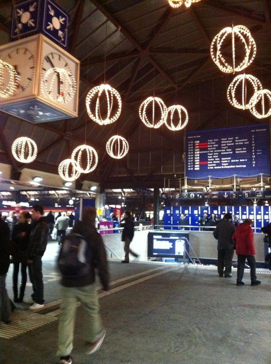 Bahnhof St.Gallen in St. Gallen, St. Gallen