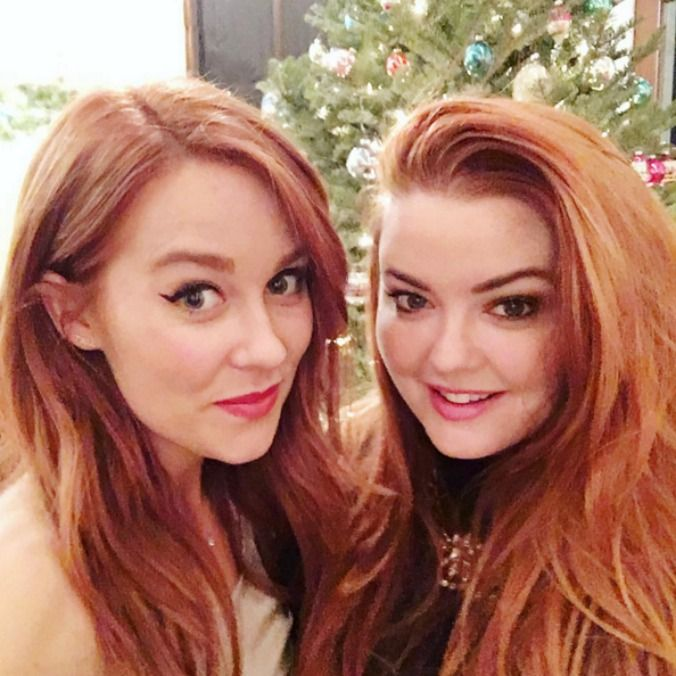 Lauren Conrad with red hair - yes it's the colour we never thought we'd see on our favourite hair inspiration.