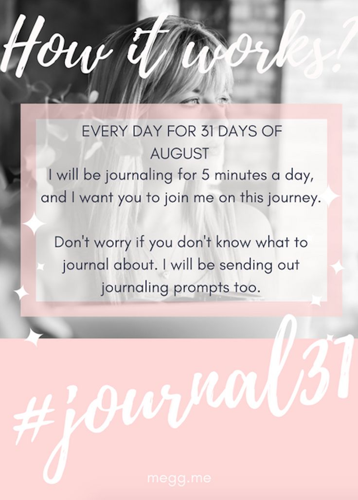 I will be journaling for 5 minutes a day, and I want you to join me on this journey.  Don't worry if you don't know what to journal about. I will be sending out journaling prompts too.