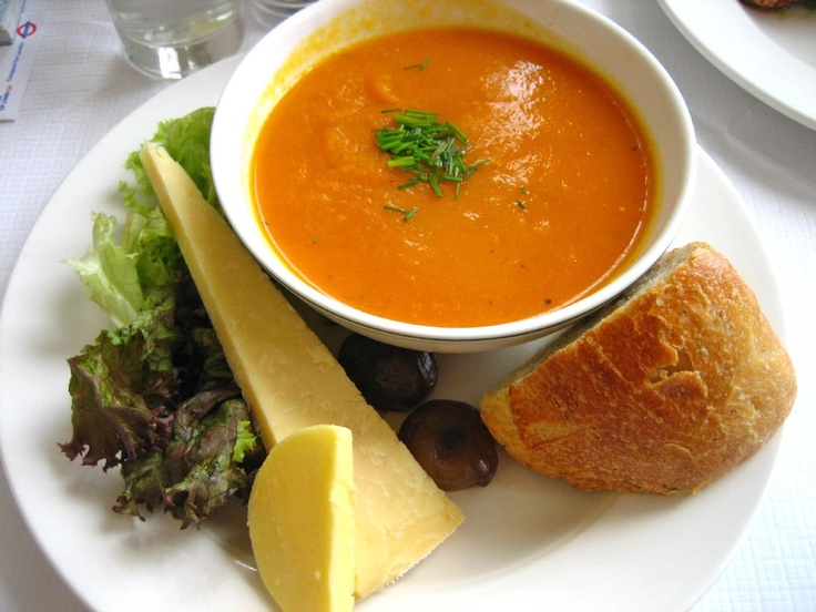 Carrot and ginger, Detox soup and Carrots on Pinterest