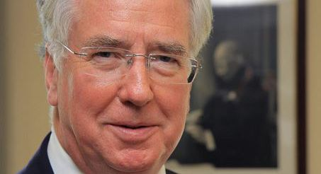 UK: Michael Fallon.  Since July 15, 2014.