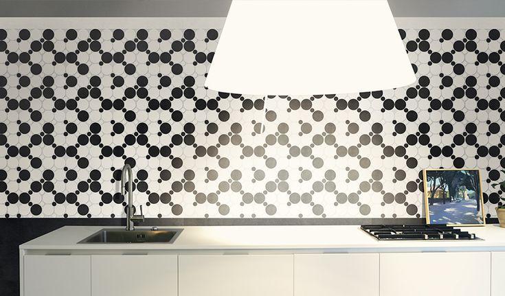 Piastrelle in gres effetto mosaico - DSG Ceramiche