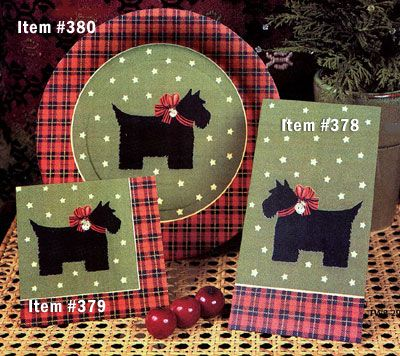 Scottie Paper Plates And Napkins Scottish Terriers
