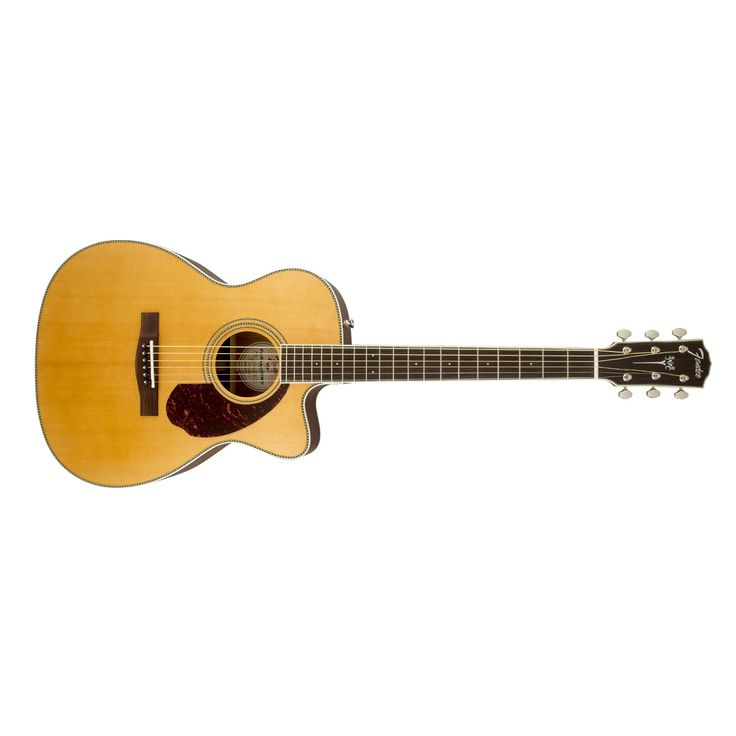 Fender PM-3 Paramount Standard Triple-0 Acoustic Electric Guitar in Natural