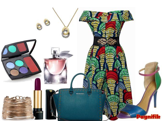 Idée de look Pagnifik - Robe verte Bot I Lam | Pagnifik