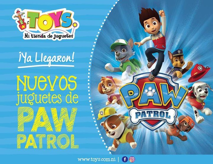 ¡Ya disponibles en tienda! Nuevos juguetes de Paw Patrol, visita tu tienda #Toys favorita y descubre lo nuevo ¡Te esperamos! #ToysMiTiendaDeJuguetes #fashion #style #stylish #love #me #cute #photooftheday #nails #hair #beauty #beautiful #design #model #dress #shoes #heels #styles #outfit #purse #jewelry #shopping #glam #cheerfriends #bestfriends #cheer #friends #indianapolis #cheerleader #allstarcheer #cheercomp  #sale #shop #onlineshopping #dance #cheers #cheerislife #beautyproducts…