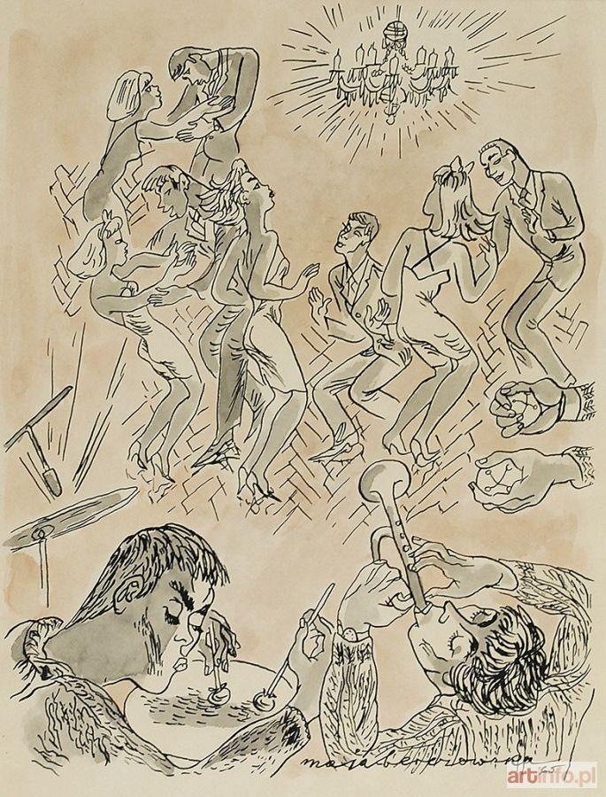 Maja BEREZOWSKA ● Dancing, 1965 ●