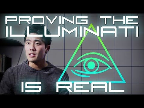 ▶ Proving the Illuminati is Real! - YouTube <-Okay so this is Ryan Higa (awesome youtuber) and this is pretty awesome. Plus PUNSSSS
