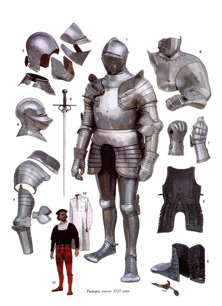 Анимацией, доспехи рыцарские картинки