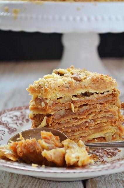 Tort kajmakowy z Chile | Kuchnia w zieleni