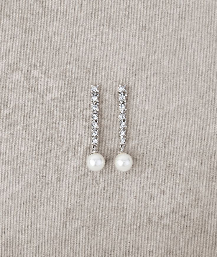 Pronovias vous présente les boucles d'oreilles de mariée PT-2576 | Pronovias | Pronovias