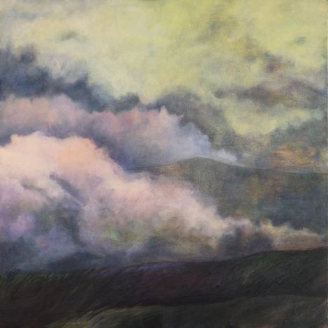Marjan Fahimi, The hills on ArtStack #marjan-fahimi #art