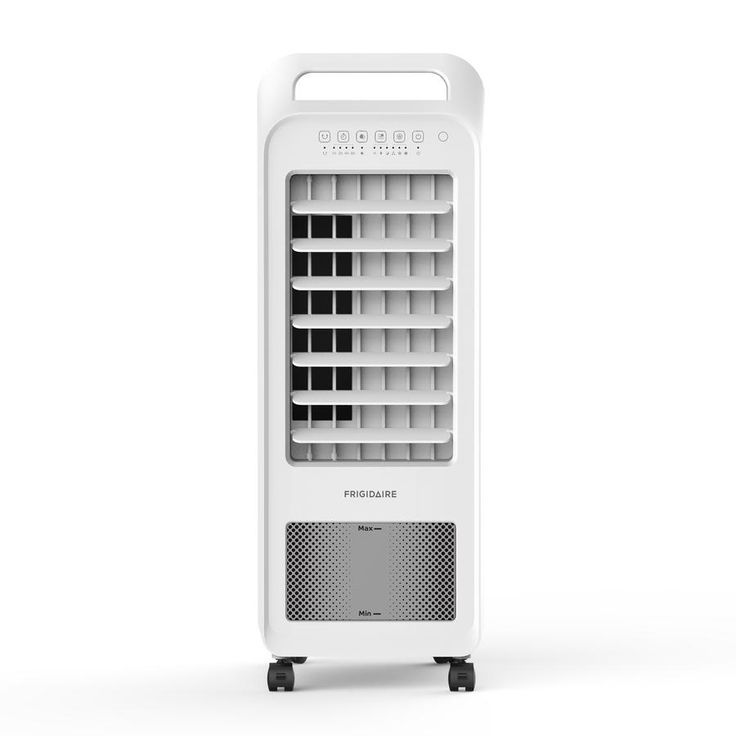 Frigidaire 2 In 1 Personal Evaporative Air Cooler And Fan 100 Sq Ft With Compact Design Removable Water Tank Evaporative Cooler Swamp Cooler Evaporative Air Cooler