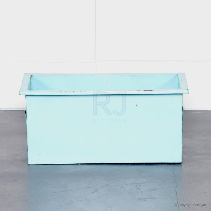 Cooper Storage Box - Light Blue | $39.00