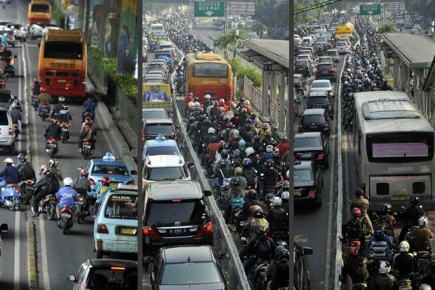 Denda Rp 1 juta untuk Penerobos Busway. #Transjakarta