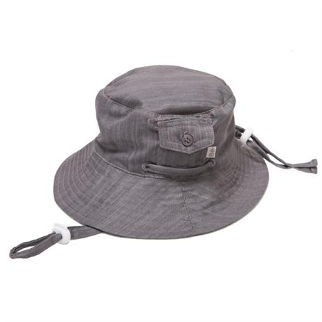 Bebe Bradley Chambray Sunhat          Price: $27.95  Gorgeous dark grey chambray sunhat from the Bradley range by Bebe - will keep your baby boy cool and protected from the sun while also looking adorable this summer!  http://www.littlebooteek.com.au/Baby-Boy/83/catlist.aspx