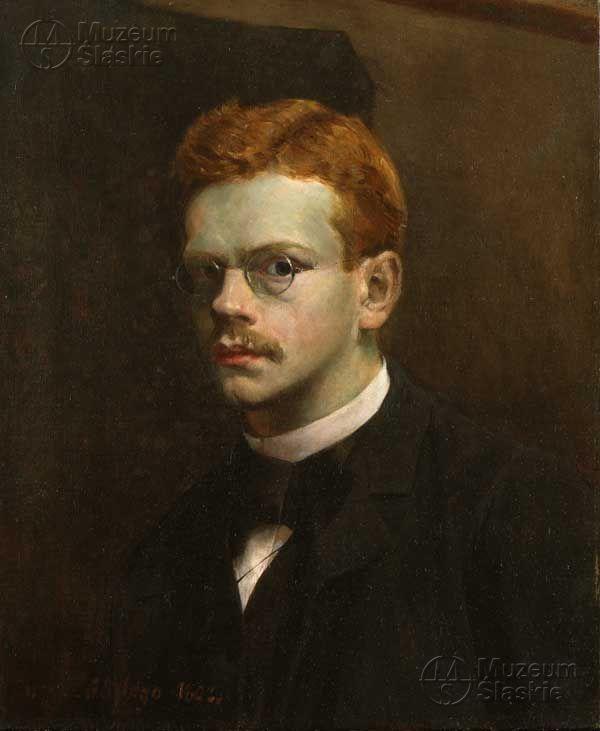 Autoportret Józef Mehoffer (1869 - 1946) 1892